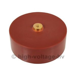 Hv Doorknob Capacitor High Voltage Ceramic Capacitor 40kv 7500pf tesla