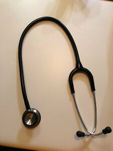 Gently Used 3m Littmann Lightweight Ii S E Stethoscope 2450 Black Tube