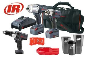 Ingersoll Rand Iqv20 2062 1 2 3 8 Impact Wrench Kit