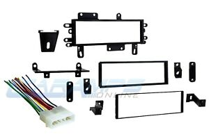 Car Stereo Radio Cd Player Dash Installation Trim Kit W Wiring Harness For Jeep