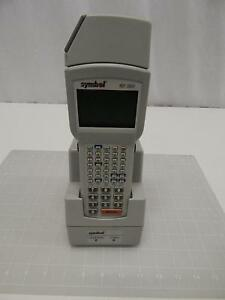 Symbol Pdt31000 s0864020 Crd3100 1000 Barcode Scanner W Charger T62274