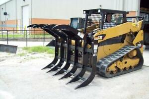 78 Site Pro Split Top Grapple Rake Dual Upper Grapples To Hold Brush And Debris