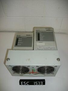Modicon 410 0 Pls4 110 206 Servo Drive Amplifier W Fan esc1533