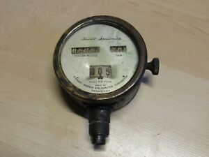 Antique Vintage Stewart Warner Automobile Speedometer E527482 13 Car Truck
