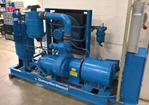 Quincy Northwest Qnwg 502 d Rotary Screw Air Compressor Lmc 45807