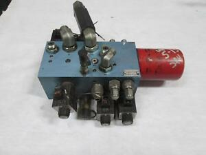 Command Controls Cdm 1248 1 36dt Hydraulic Directional Valve Assembly