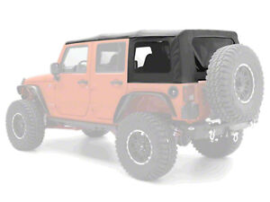 07 09 Jeep Wrangler Unlimited Replacement Soft Top Tinted Windows Special Buy