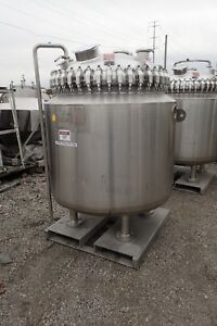 200 Gal Pfaudler Glass Lined Reactor Body 50 150
