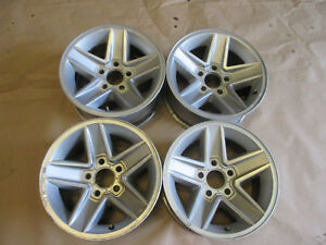 82 92 Camaro Rs Z28 Wheels Silver 15x7 Set Of 4 0927 15