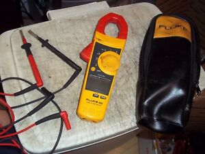 Fluke 902 Hvac Clamp Meter True Rms Multimeter Bonus Suregrip Alligator Clips