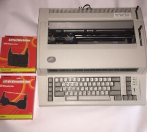 Ibm Personal Wheelwriter Lexmark Electronic Typewriter 6781 Works With Extras