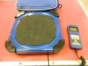 Yellow Jacket Refrigeration Charging Scale 68862 W carrying Bag up To 220 Lbs