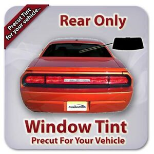 Precut Window Tint For Chevy Camaro 1982 1989 Rear Only
