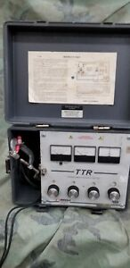 Biddle Megger Ttr 550005 Transformer Turn Ratiometer Tester