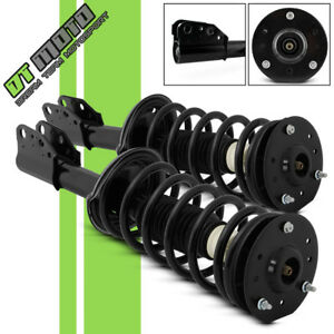 Pair 2 Front Quick Complete Strut Coil Spring Assembly For 2002 2007 Saturn Vue