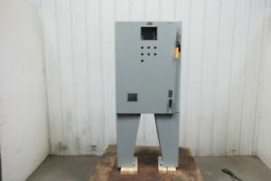 Hoffman Free Standing 36x26x8 30a Fused Electrical Enclosure W backplate