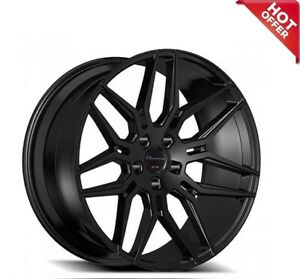 4pcs set 20 Staggered Giovanna Wheels Bogota Black Popular Rims