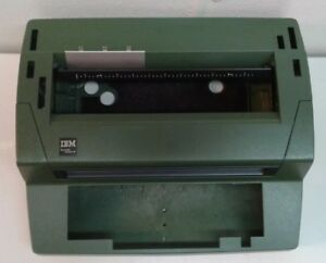 Ibm Selectric Iii Typewriter Case Shell Green Excellent Clean Parts