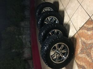 Chevy Tires And Rims 33x12 50r18lt