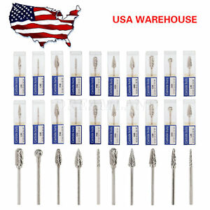 30pcs Dental Tungsten Steel Carbide Burs Drill 2 35mm For Polishing Handpiece