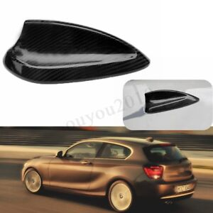Real Carbon Fiber Shark Fin Antenna Cover For Bmw 1 2 3 4 Series F30 F31 F32 F80
