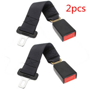 2pcs Universal 14 Car Seat Belt Seatbelt Safety 7 8 Buckle Extender Extension