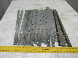 Dematic K00090101a Roller Conveyor Edge Strips 3 Roll Centers 7 16 Hex Lot 41