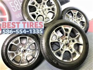 19 Inchoem Factory Dodge Charger Hyper Awd Wheels Rims Set Of 4 With Tires 2544