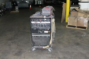 Lincoln Square Wave 355 Ac dc Tig Welder Cool Arc 40 Water Cooled