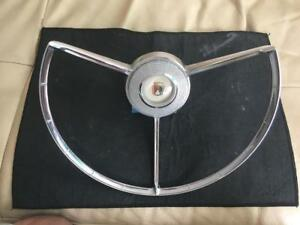 1956 Ford Fairlane Crown Victoria Horn Ring Assy Complete