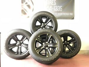 20 Dodge Ram Black Oem 1500 Factory Sport Wheels And Tires Rims