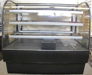 Federal Industries Cgd5048 Curved Glass Non refrigerated Bakery Case