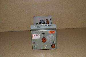 Tinsley Photocell Galvanometer Amplifier Type 9460 2