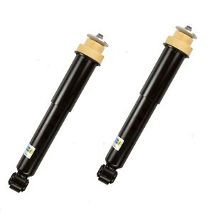 New Pair Set Of 2 Rear Bilstein Shock Absorbers With El Susp For Jaguar Xk8 Xkr
