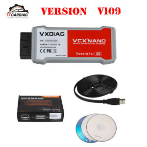 Vxdiag Vcx Nano For Ford Mazda 2 In 1 With Ids V109 Replacement For Vcm 2