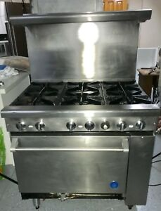 Commercial Stove All Stainless Steel