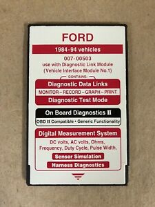 Ford Rotunda Special Tool 007 00503 Ngs Tester Red Card 1984 94 Obdii Compatible