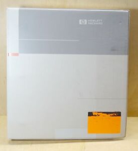 Hp 8757d Scalar Network Analyzer Operating Manual