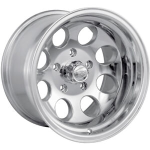 16x10 Polished Alloy Ion Style 171 8x6 5 38 Wheels Lt315 75r16 Tires