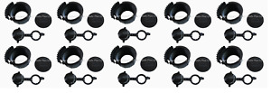 30pcs Gas Can Parts Wedco 10 Screw Caps 84004 10 Vents 84003 10 Stoppers 84002