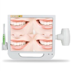 Ce Dentist 17 Lcd Screen Monitor Dental Intra Oral Camera Save 128pcs Images