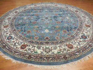 Super Turkish Vgdy Qoom Ghuom Oushak Chobi Serapi Tabrizz Contemporary 9x9 Rug