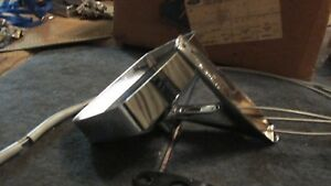 Nos 1969 1970 Ford Galaxie Xl Ltd Country Squire Lh Chrome Mirror Asby New Nos