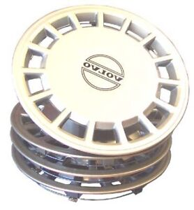 Volvo 240 244 245 Wheel Covers Hubcap Set Of 4 For 14 Inch Wheels