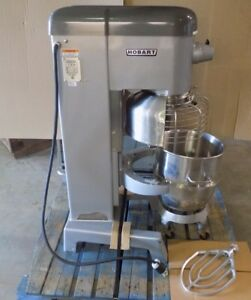 used Hobart D 340 40 quart Commercial Mixer With Attachments