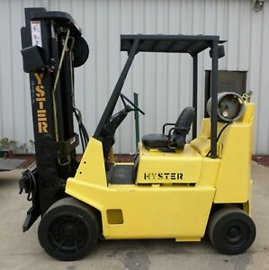 Hyster Model S80xlbcs 1989 8000 Lbs Capacity Great Cushion Tire Forklift