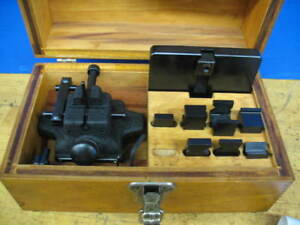 Optical Gaging Products Optical Comparator Stage Accessories W case xlnt
