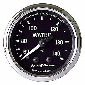 Auto Meter Products 201007 Cobra Gauge Water Temperature