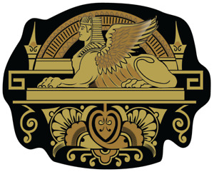 Singer Model 27 127 Sphinx Style Sewing Machine Sample Decal 40941
