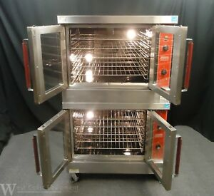 2015 Hobart Vulcan Commercial Gas Double Convection Oven Vc 4gd 10 Excellent